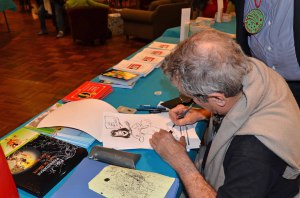 Claude Turier dessine Isabelle Alonso