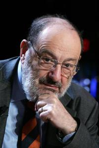 Writer and academic Umberto Eco.