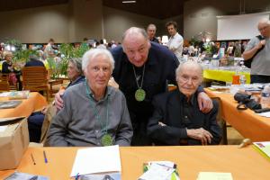 Marcel Amont, Xavier Jaillard et René de Obaldia