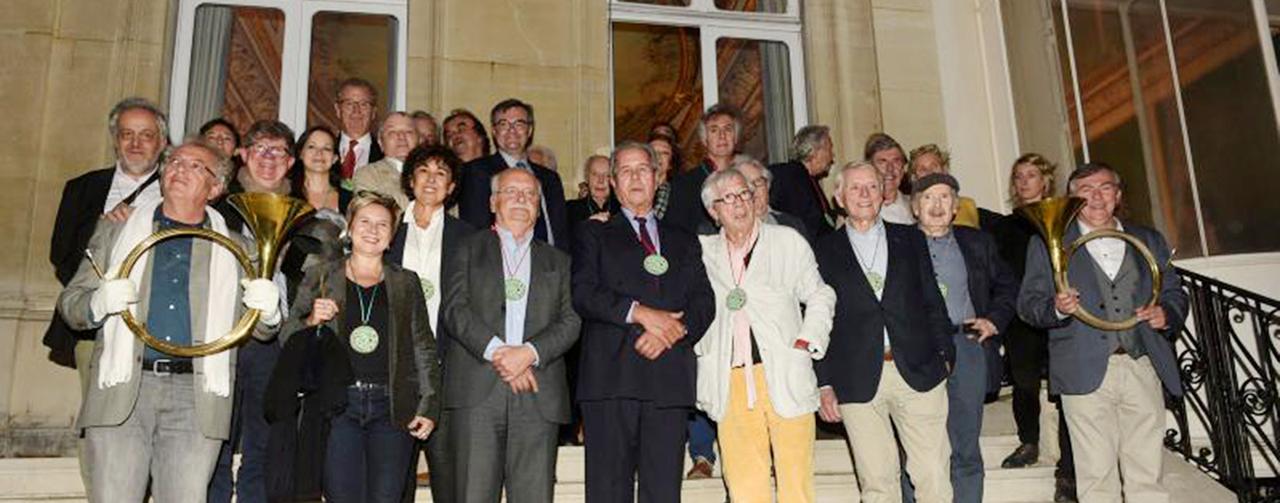 Intronisations de Jean-Louis Debré, Erik Orsenna et Jean-Louis Fournier